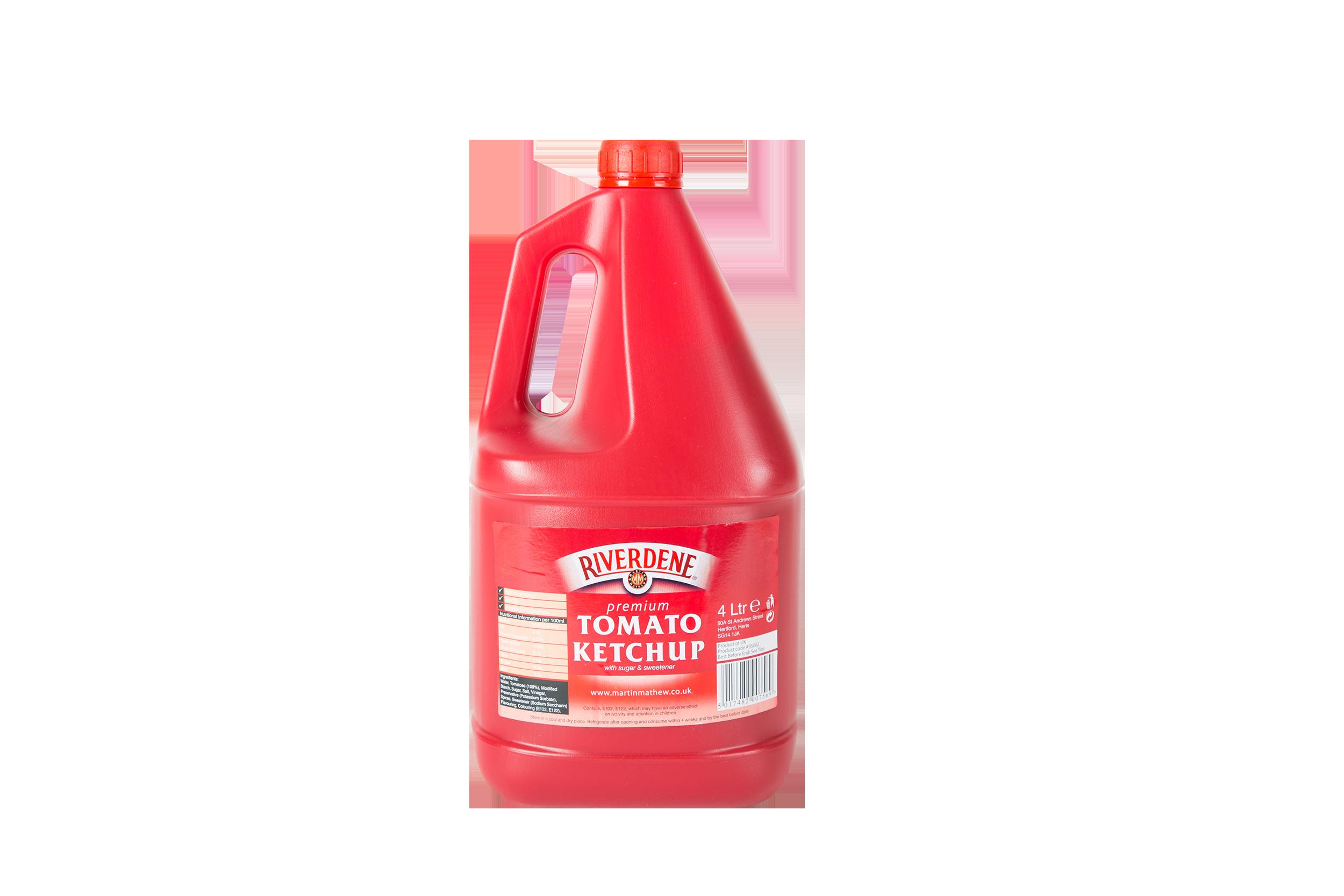 Riverdene Tomato Ketchup - 4 litre