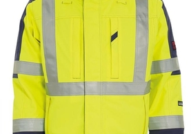 TRANEMO 5000 94 JACKET HI-VIS YELLOW/ NAVY JACKET EN471