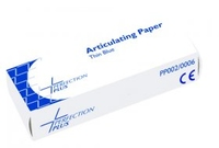 ARTICULATING PAPER THIN  BLUE* 71 MICRONS 12 X 12 SHEETS