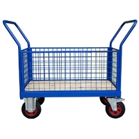 4 Sided Mesh Platform Truck or Mesh Trolley