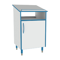 Sealwise Anti-Microbial Static Lectern with Door