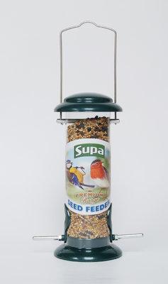 "Supa Premium Metal Wild Bird Seed Feeder 9"" x 1"