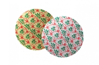 """10"""" Asst Christmas printed Double thick Cards 1pk"""