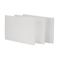 Waterspot White Glass Pad 200x150x5mmm