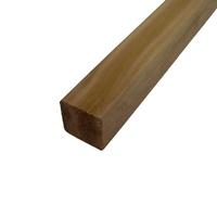 #2.4M Brown Post 75x75mm UC4 KILN DRIED REDWOOD BS 8417