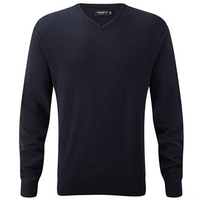 Russell Gents V-neck Knitted Jumper