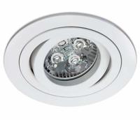 ONE Light White Round Adjustable Downlight
