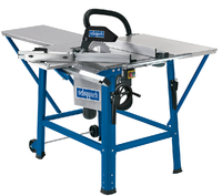 """SCHEPPACH TS 310 12"""" SAWBENCH 2.2KW C/W TABLE EXTENSION\7 SLIDING TABLE CARRIAGE 230V"""