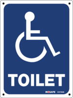 Disabled Toilet - Wheelchair Sign