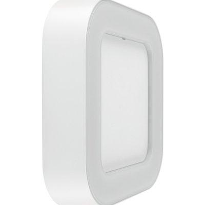 LEDVANCE White Square Wall Light, 13w 3000k Warm White