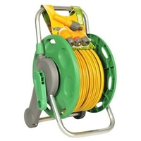 Hozelock 2431 Reel 45M 2-In-1 Plus 25M Hose & Fitting