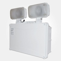 IP65 LED Twinspot Emergency Fitting