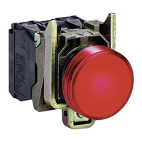 Telemecanique 24V Red Round LED Pilot Light