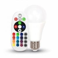 6W A60 RGB Bulb Remote Control
