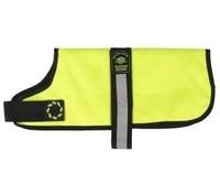 """Outhwaite Dog Coat Padded Lining 28"""" - Hi-Viz Yellow x 1"""