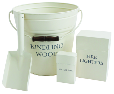 County Cream Kindling Set
