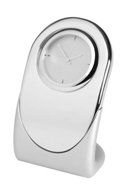 8cm Nickel Plated Clock | TC110