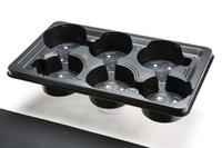 Plantpak NexTraY Marketing Tray for Pots 6 x 17cm 5°