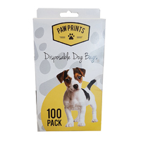 Kingfisher Disposable Doggy Poop Bags 100pk - BBDOG (BBDOG)