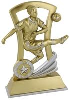 18cm Soccer Kicker with Star Recess