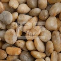 Premium Midi Yellow Polished Pebbles 15-30mm