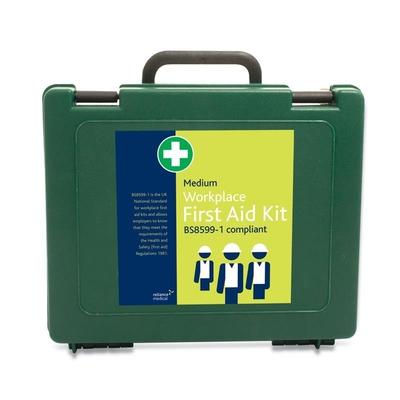 First Aid Kit Workplace Medium (inc bracket)