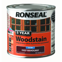 5 Year Woodstain 250ml Deep Mahogany