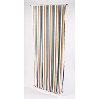 Heavy Duty Strip Blind Dark Multi - Coloured