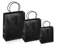 Luxury Black Silk Bags