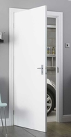 FLUSH FIRE DOOR 6'6 X 2'4 30/30 PAINT GRADE PRIMED WHITE