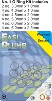 Easi Plumb 22 Pce No. 1 small O Ring Kit