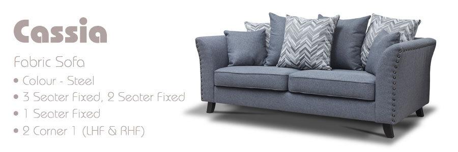 Cassia Fabric Sofa