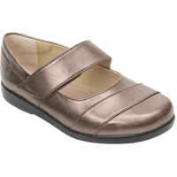 Cosyfeet Taupe Ladies Shoe (Thelma)