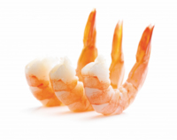 IQF King Prawns Headless Raw Peeled & Deveined 21/30 Artic Royal 1kg