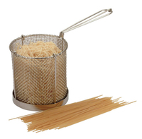 Spaghetti Basket Stainless Steel 150mm Dia x 150mm High