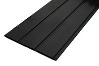 BLACK PVC FASCIA 175MM 5M LT