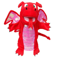 Red Dragon - Hand Puppet