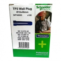 THORSMAN TP 3 BLUE WALLPLUGS