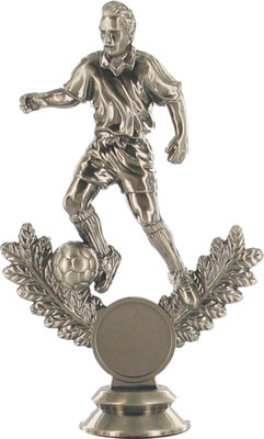 Metal Plated Soccer Figure (Male)