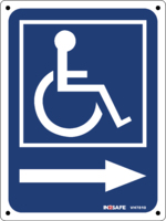 Disabled Logo Direction Right
