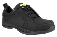 FS59  Black Ladies Lightweight Composite Safety Shoe