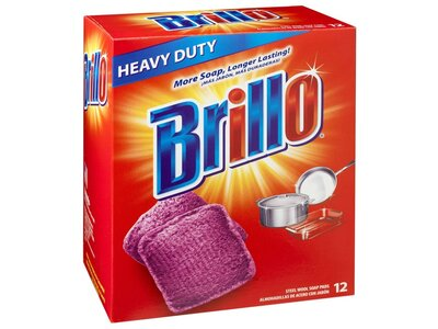 Soap Brillo Pads (Pack of 12)
