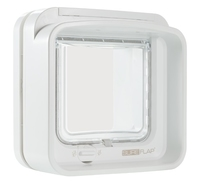 SureFlap DualScan Cat Flap - White x 1