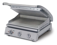 Roband Grill Station 8 Slice Smooth Aluminium Plate