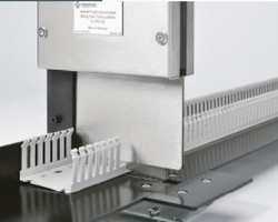 Panel builders use large quantities of both DIN rail for mounting components in control panels and plastic conduit trunking for keeping wiring neat and organised. Both components are typically supplied in 3m lengths so the need to cut them is an essential part of each day.