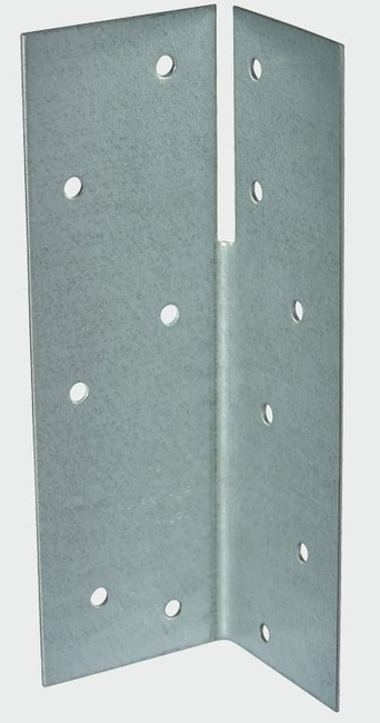 Universal Framing Angle Bracket 124x40x40mm Galvanised - Goodwins