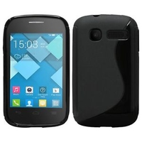 TPU1030 Alcatel C1 Black S-Line TPU