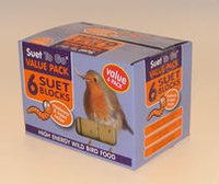 Suet to Go Suet Block Multipack Mealworm 6-Pack x 1
