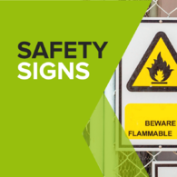 Standard safety signs