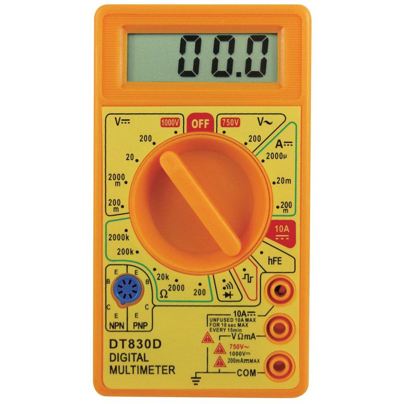 DT830D Pocket Digital Multimeter